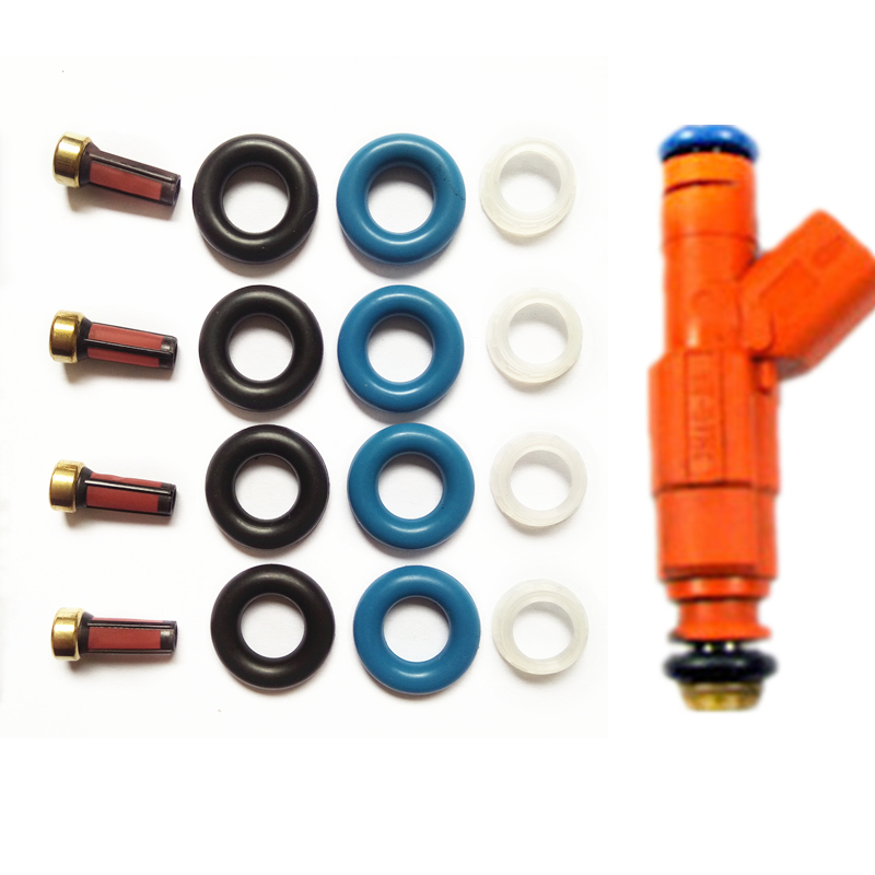 O-RINGS /& PINTLE CAPS FILTERS 2M2E-A7B INJECTOR REPAIR KIT INCLUDES