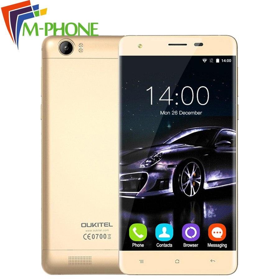 "bilder für Original Oukitel K6000 Handy 5,5 ""HD 4G 6000 mAh Android 5.1 MTK6735P Quad-Core-Handy 2G RAM 16G ROM 13MP Smartphone"