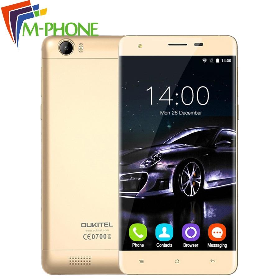 Original Oukitel K6000 Mobile Phone 5 5 HD 4G 6000mAh Android 5 1 MTK6735P Quad Core
