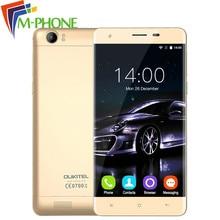 """Оригинальный Oukitel K6000 Мобильный телефон 5.5 """"HD 4 г 6000 мАч Android 5.1 MTK6735P Quad Core Телефон 2 г Оперативная память 16 г Встроенная память 13MP смартфон"""