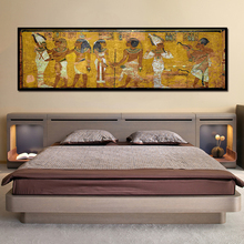 Retro Egypt Queen Cleopatra Poster Canvas HD Prints Oil Painting Ancient Egyptian Picture Mural Room Wall Art Bedside Home Decor