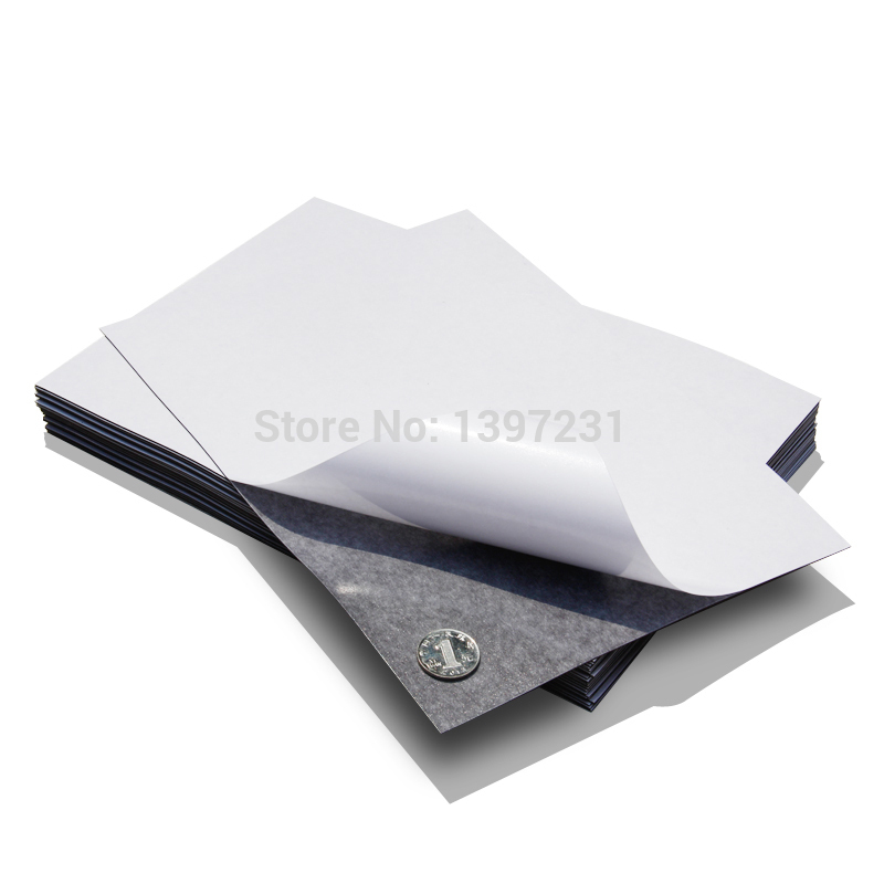 flexible magnetic strip rubber magnet width 1pcs 297x210x1mm self adhesive magnet sheet A4X1mm