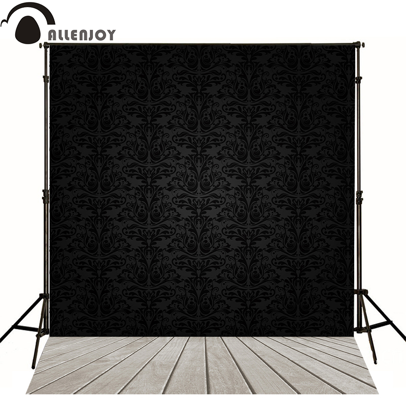 Allenjoy photography backdrops floral frame black luxury elegant custom size backgrounds for photo studio no creases color itead sonoff touch luxury glass panel touch led light wall switch smat home remote control wifi switch one way via ewelink app