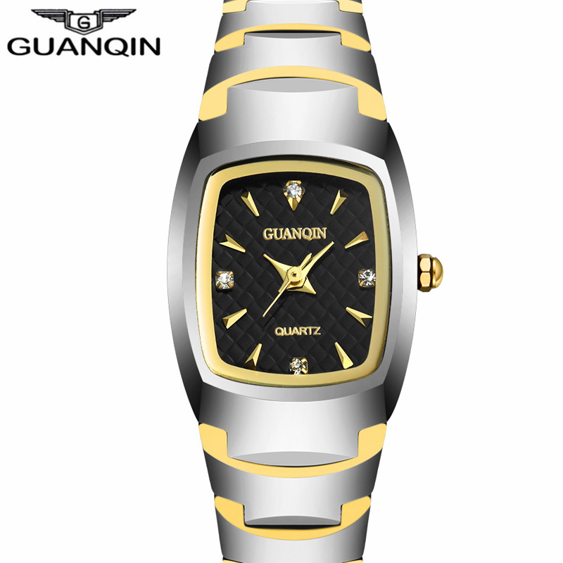 GUANQIN Women's Fashion Oval Quartz Watch Ladies Series Jewelry Luxury Tungsten Steel Business Bracelet Watches felogio feminino брюки спортивные blukids blukids bl025ebvyi31