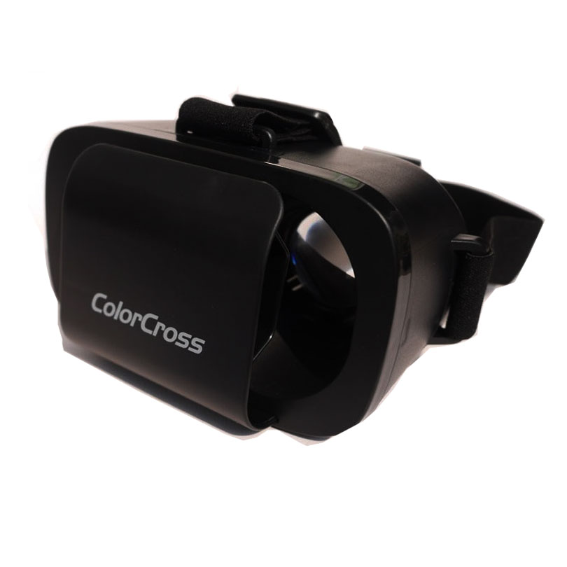 Virtual Reality 3D glasses VR Box Color Cross Google Virtual Reality 3D Polarized Video Glass for