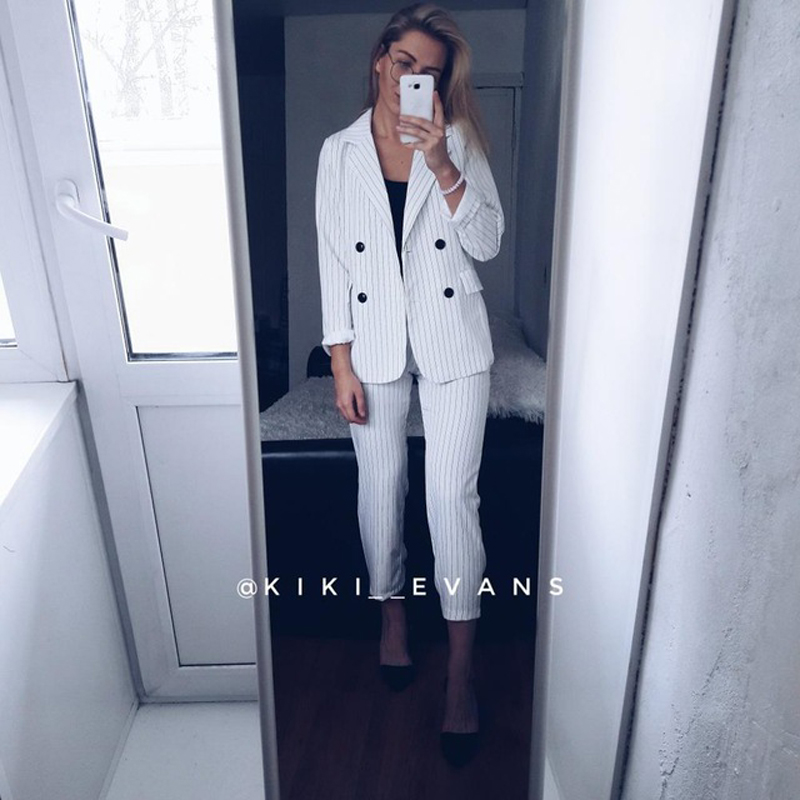 Work-Fashion-Pant-Suits-2-Piece-Sets-Double-Breasted-Stripe-Blazer-Jacket-Straight-Pant-Office-Lady-Suit-Women-Outfits-2018-4