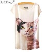 KaiTingu 2016 Brand New Fashion Spring Summer Harajuku O Neck Short Sleeve T Shirt Women Tops