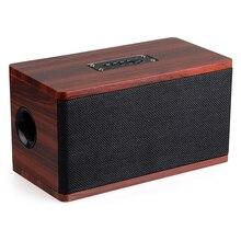 Hifi Speaker Wood Wireless Bluetooth 4.2 Speaker Portable Computer Speakers 3D Loudspeakers for TV Home Theatre Sound Bar AUX