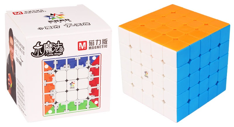 New Original Yuxin Little Magic 5x5x5 M Magnetic Cube 62.5mm Professional Zhisheng 5x5 Speed Cube Twist Educational Toys For Kid