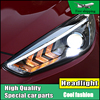 Car Styling Head Lamp For Ford Focus MK3 Headlights 2015 2017 LED Headlight DRL Daytime Running