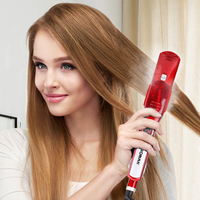 Professional Hair Straightener With Argan Oil Infusion Straightening Irons With Steam Function Flat Iron Hair Styling