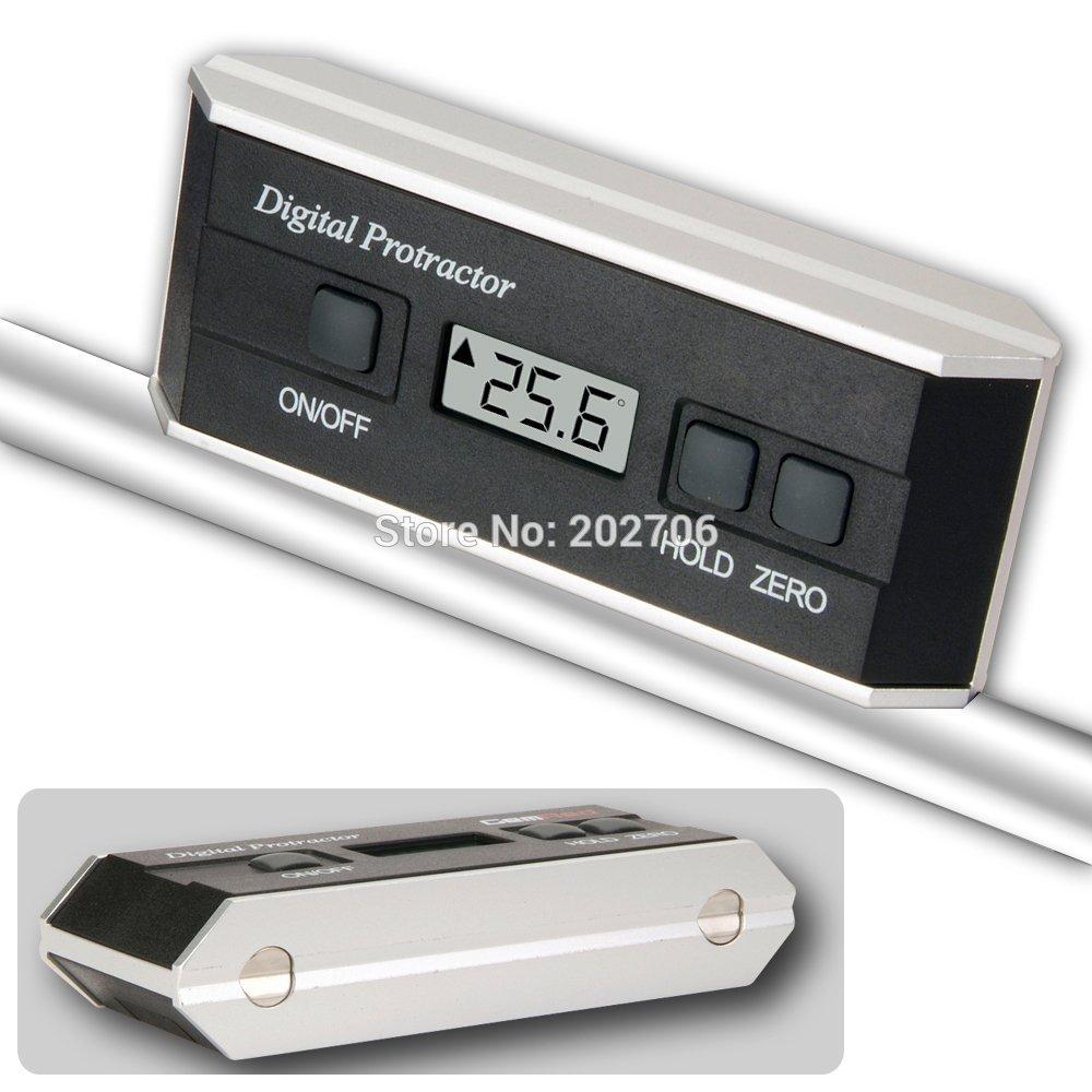デジタル分度器傾斜計アングルスロープ測定装置 4 × 90 v 溝マグネットベースゲージ  グループ上の ツール からの 測定機器 の中 1