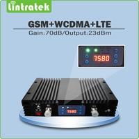 High Gain 75dbm Dual Band DCS1800mhz WCDMA2100mhz Signal Repeater