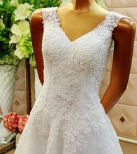 New Arrival 2017 Elegant Lace  Wedding Dresses A-Line Cap Sleeve Wedding Gowns Bride Bridal Dress WD2110