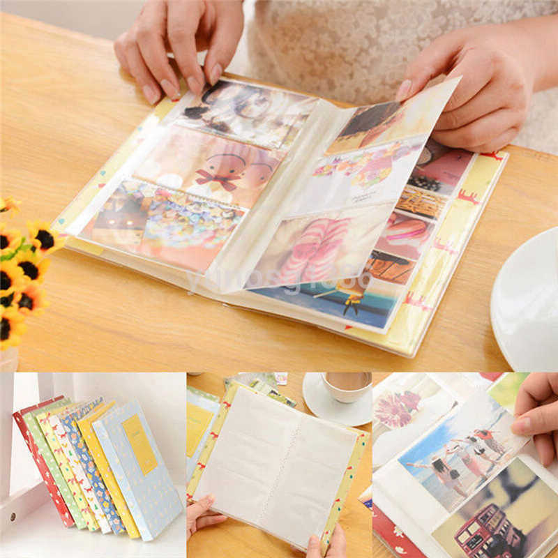 84 Pockets Mini Film Instax Polaroid Album Photo Storage Case Fashion Home Family 1 piece Friends Saving Memory Souvenir