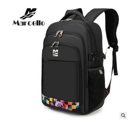 ФОТО MARCELLO Women's Swiss Style Travel Mochilas Laptop Bag Backpack Men 15.6 Inch Rucksacks Notebook Backpack Men's Knapsacks Sale