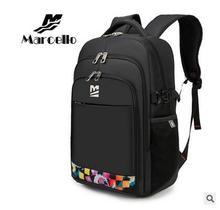 MARCELLO Women's Swiss Style Travel Mochilas Laptop Bag Backpack Men 15.6 Inch Rucksacks Notebook Backpack Men's Knapsacks Sale