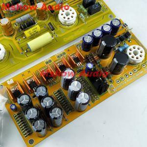 Image 5 - Ünlü devre 6SN7 tüp preamplifikatör DIY kiti reefer taşıma AE 1 preamp HIFI ses seçeneği çıplak pcb kartı ön amp