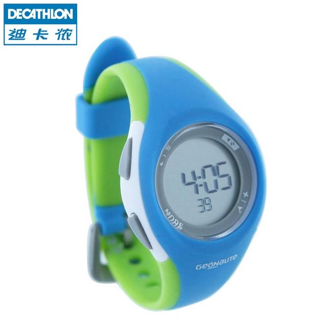 9345da1b6763cf Decathlon reloj deportivo mujeres parpadea impermeable multifuncional  exterior niños corriendo de hoja de cálculo GEONAUTE