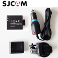 SJCAM Accessories Desktop Charger + Car Charger + Car suction cup bracket +Battery for SJCAM SJ4000 SJ5000 WIFI M10 PLUS SJ5000X