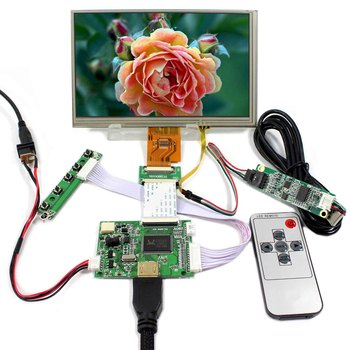 HDMI LCD Controller Board With 7inch AT070TNA2 1024x600 Touch LCD Screen