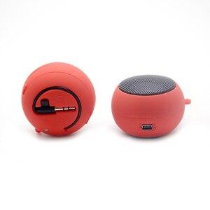 Image 5 - Hamburger Mini Speaker Mp3 Muziek Luidspreker Speler Outdoor 3.5 Mm Bedrade Speaker Klankkast Voor Computer Telefoons
