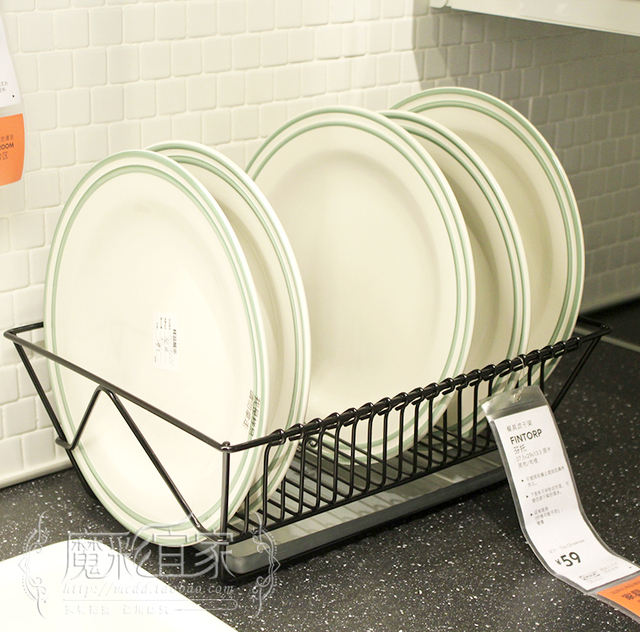IKEA Shopping Fentuo Cutlery Drainer Rack Kitchen Shelving Filter Drain Rack  Dish Rack Storage Rack Kitchen