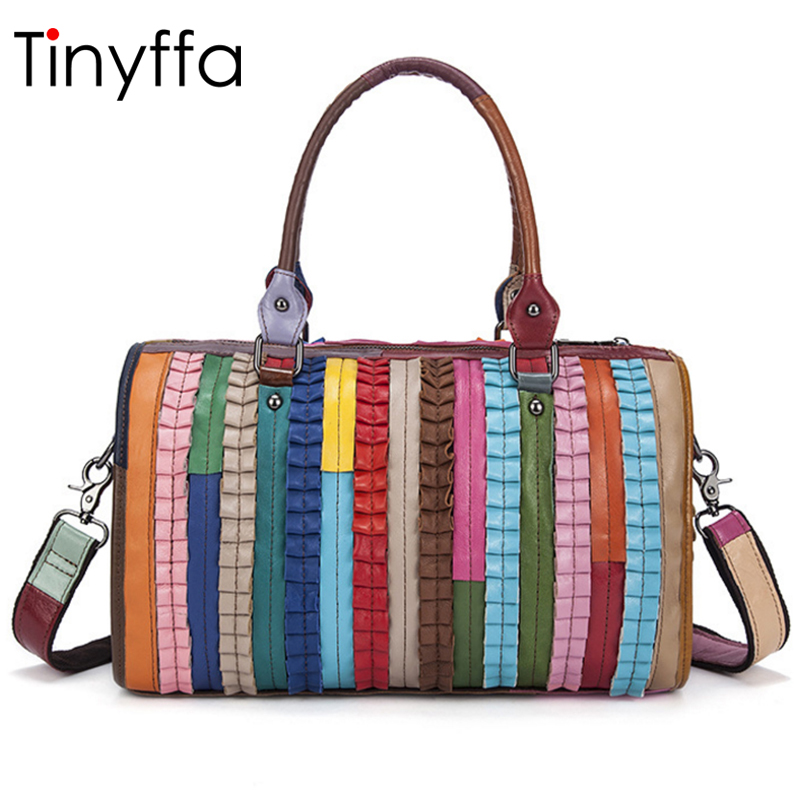 Tinyffa Luxury Handbags Women Bags Designer High Quality Messenger Shoulder Crossbody Doctor Bags Handbags Women Famous