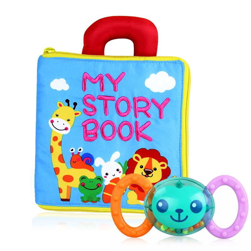 Baby Early Learning Toys For Children Alphabet&Letters Montessori Soft Cards Books For Toddlers Activity Baby Toys 0-24 Months adults children learning books chinese english learning cards 3 to 6 year olds baby early learning reading cards literacy cards
