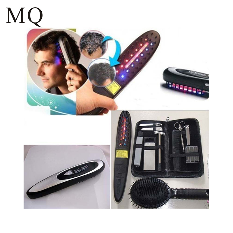 Electric Laser Hair Growth Comb Hair Brush Grow Laser Hair Loss Therapy Comb Regrowth Device Machine Ozone Infrared Massager electric head massager laser hair growth comb brush grow laser hair loss therapy comb regrowth device machine laser treatment