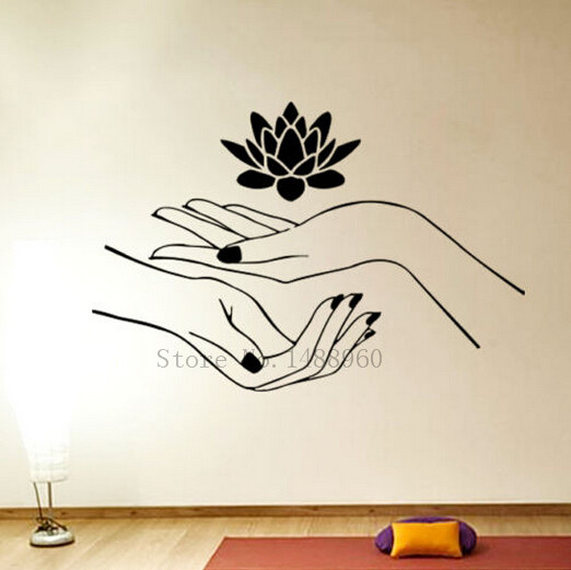 e decoracin extrable pegatinas de pared decoracin para el hogar diy poster mural decal lotus en