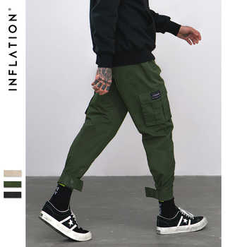 INFLATION 2019 New Casual Pants High Street Men Brand Clothing Elastic Male Trousers Men Joggers Leggings Pencil Pants 8869W - DISCOUNT ITEM  52% OFF All Category