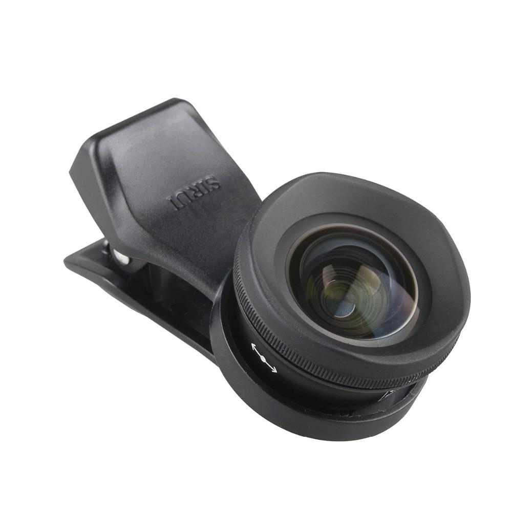 Sirui 18/60 MM grand Angle 10X MacroPhone objectif HD 4K Fisheye téléobjectif Portrait caméra lentilles de téléphone pour iPhone Xs Max 8 7 Huawei - 6
