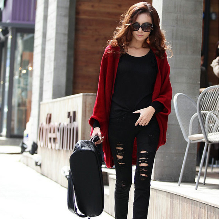 8e83fc2160 2016 Women Sweater Open Stitch Cardigan Women Vintage Sweater Spring and  Winter Outerwear Women Long Cardigans