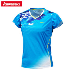 Kawasaki st 172017 sportswear women 2017 new badminton game shirts south korea female badminton sport shirts.jpg 250x250