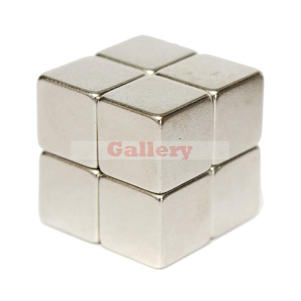 Hot Sale Special Offer Iman Neodymium Magnets 24 Pcs Lot N52 10x10x10mm Block Super Strong Rare