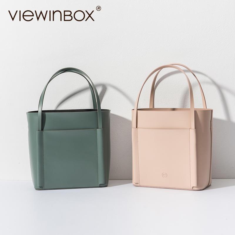 Viewinbox Original New Design High Quality Brand Women Handbag Casual Tote Bag Fashion Lady Messenger Bag Commute Shoulder Bags new original copper high current 6000vac 0 06uf high frequency resonant capacitor 80k 80a