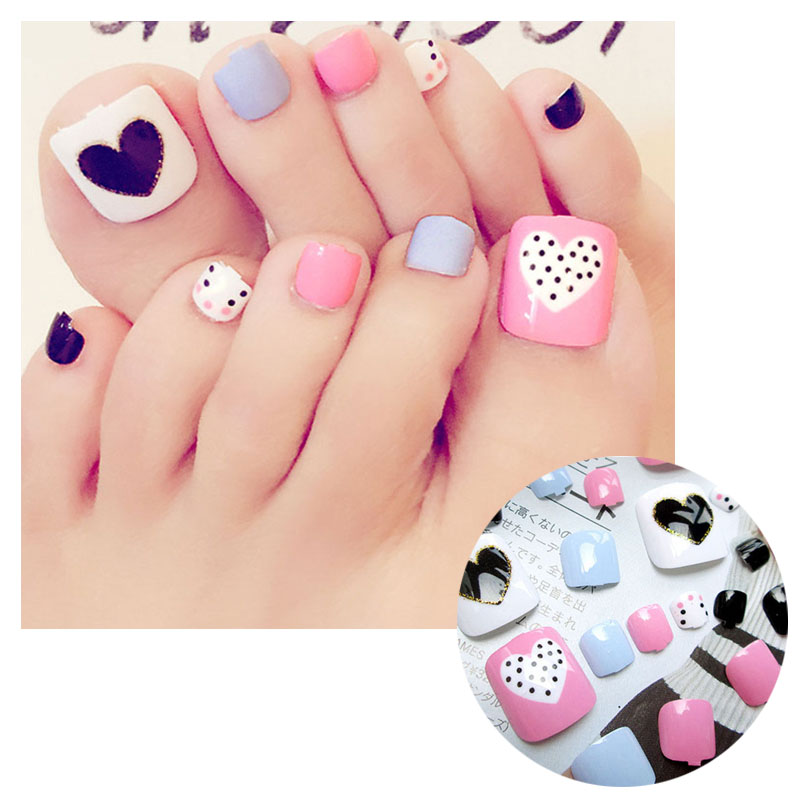 Foot New Nail Art Design