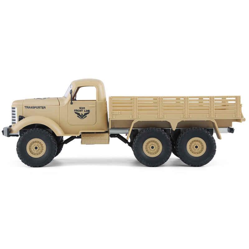 JJRC Q60 1/16 2.G 6WD Off-Road Militaire Kofferbak Crawler RC Auto Afstandsbediening Speelgoed Voor Kinderen Kinderen Verjaardag gift Present