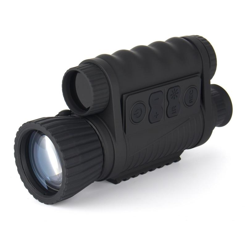 6x50 Digital Infrared Night Vision Monocular telescope 350m Range Takes 5mp Photo & 720p Video NV020 5x40 bak4 prism infrared night vision monocular camera