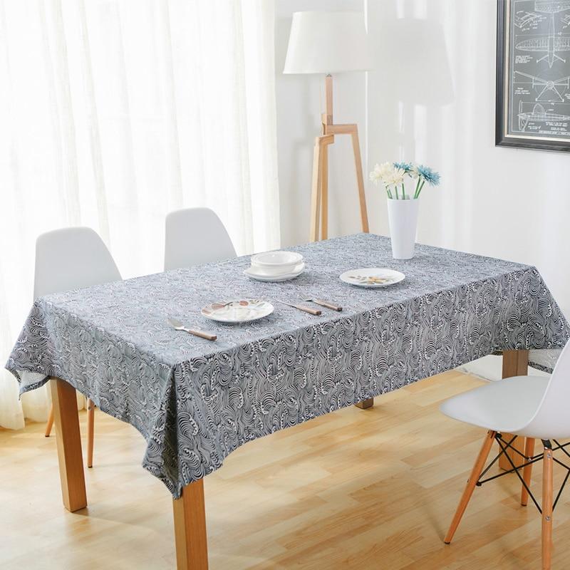 Classical Table Cloth Blue Tablecloth For The Table Cover Rectangular Oil  Cloth Tablecloths Toalha De Mesa Tafelkleed Mantel