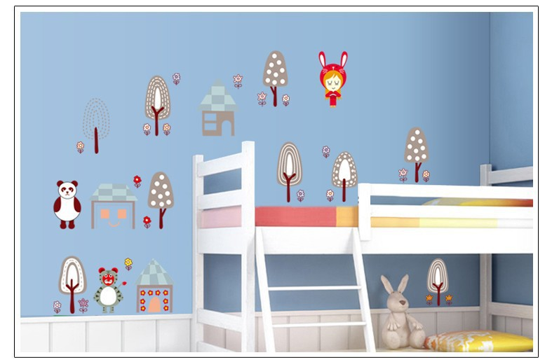 Popular cardboard house pattern buy cheap cardboard house for 3d wallpaper for baby room