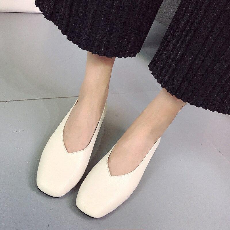 Épais marron Nouveau Coréenne Un 2018 Automne noir De Version Avec breasted Grand Chaussures Single mère saisons La Quatre Beige Printemps vert 0SfnHSq