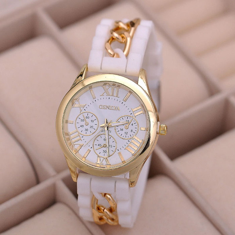 US $2 11 24% OFF|Fashion Vintage Women Girl Watch Silicone Band Roman  Numerals Quartz Wrist Watches Female Girls Watch Clock Reloj Hombre-in  Women's