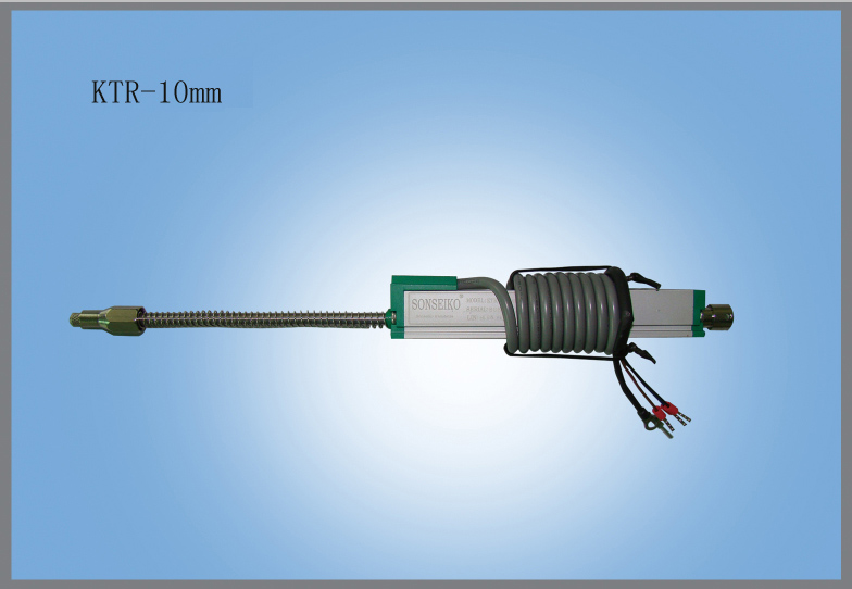 ФОТО displacement sensor scale  self reset built-in spring KTR-10  10mm electrical scale  LINEAR MOTION POSITION TRANSDUCER