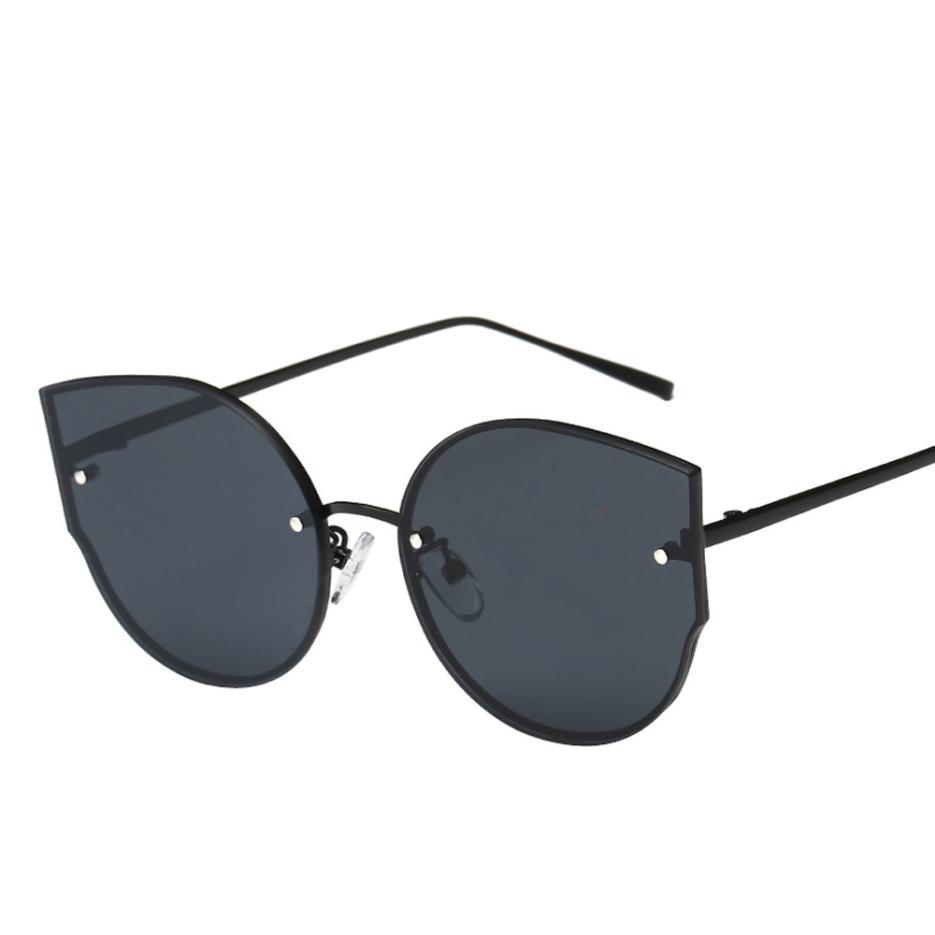 2019 Summer Womens 6 Colours Vintage Eye Glasses Mirror Stylish Daily Retro Classic Sunglasses Holiday Beach Oculos De Sol A0