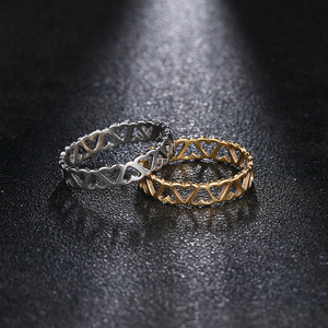 Женские кольца из нержавеющей стали DOTIFI, кольцо из нержавеющей стали для помолвки и свадьбы|Кольца|   | АлиЭкспресс