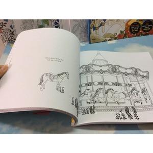 Image 2 - 82 صفحة حلم الكبار تلوين كتب الكتابة على الجدران اللوحة رسم سر حديقة تلوين كتاب للكبار الأطفال