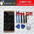 CUBOT X15 ЖК-Дисплей + Сенсорный Экран + Инструменты 100% Первоначально Дигитайзер Ассамблеи Замена Аксессуары Для Сотовых Телефонов