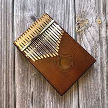 цена на 17 Keys Kalimba Mbira Sanza Likembe Thumb Piano Rosewood Instrument Traditional African Music Instruments 17 tone